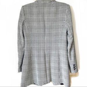 Calvin Klein Jackets & Coats - NWOT Calvin Klein • Plaid Longline Blazer 6